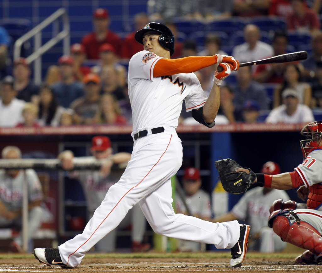 Giancarlo Stanton Hitting He Signed For How Much...