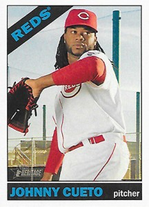 Topps Heritage Cueto